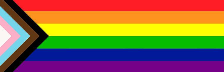 pride flag banner