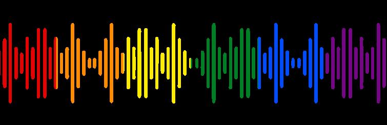 sound wave banner